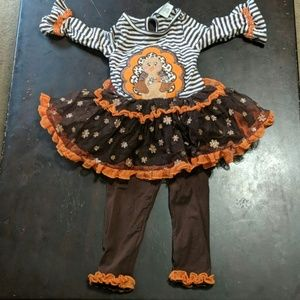 Thanksgiving girls outfit 18 months.